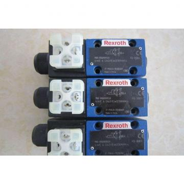 REXROTH 4WE 6 M6X/EW230N9K4 R900922375 Directional spool valves