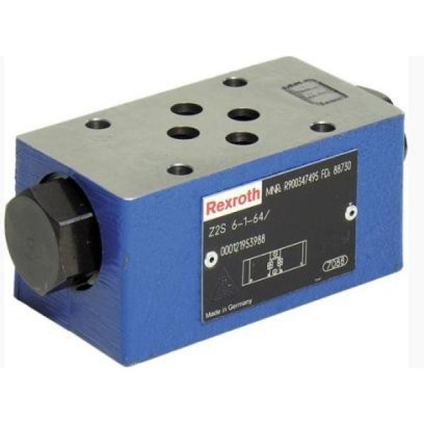 REXROTH 4WE 10 P3X/CG24N9K4 R900500716 Directional spool valves #2 image